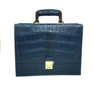 Alexander Bespoke Alligator Briefcase