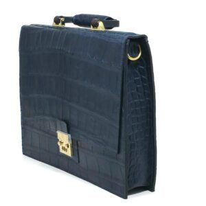 Alexander Bespoke Alligator Briefcase