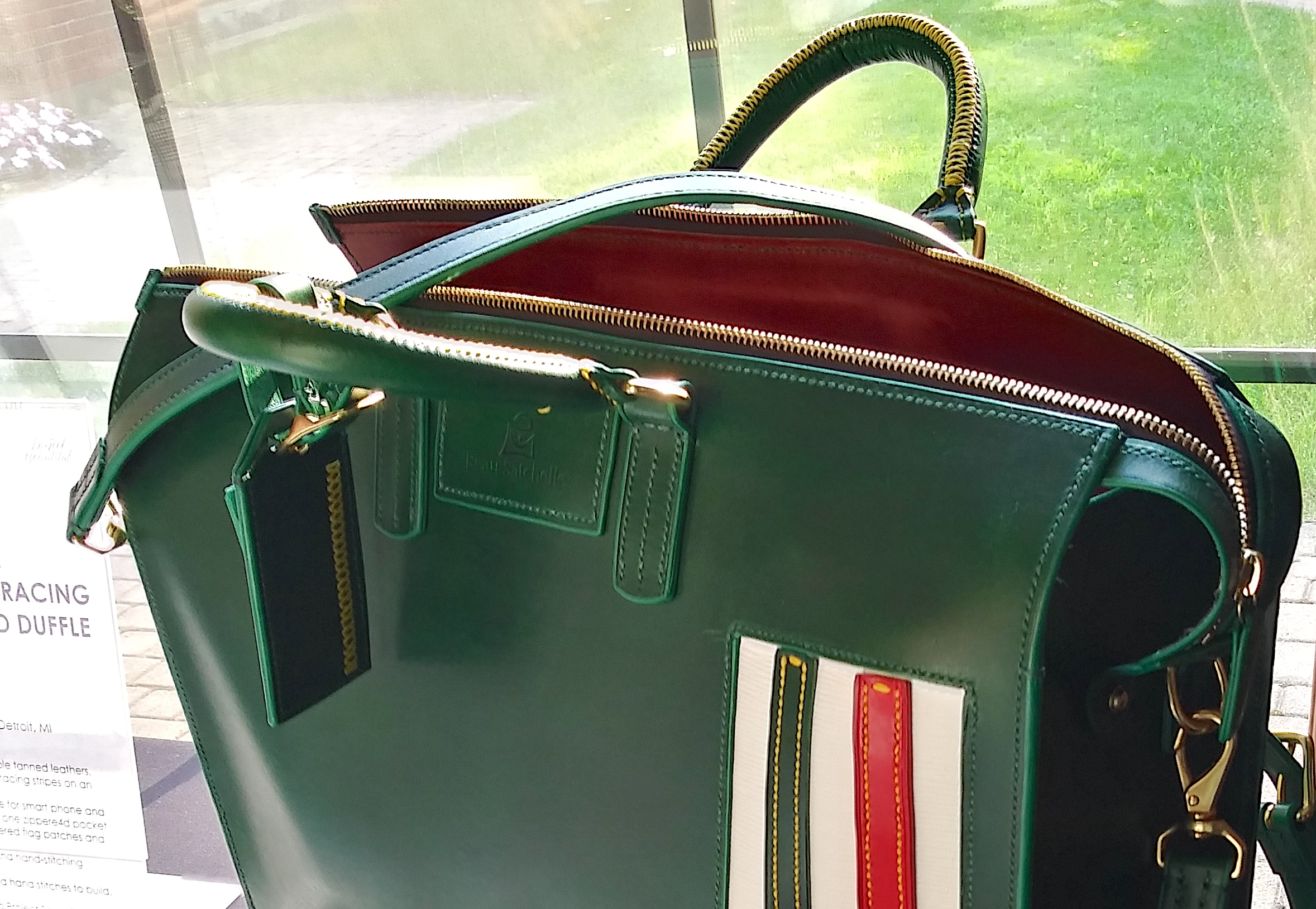 Read more about the article Product Reveal: Italian Racing Inspired Duffle Bag