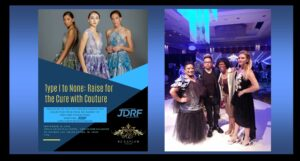 Pairing Couture Fashion for a Vision:  JDRF for Curing Type 1 Diabetes